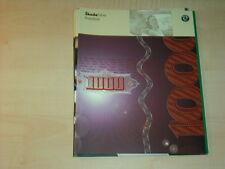 44022) Skoda Fabia Preise & Extras Prospekt 08/2001