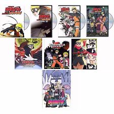 Naruto: Shippuden Movies 1-8 Collection 1 2 3 4 5 6 7 8 DVD NEW! FAST SHIPPING!!
