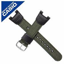Casio Originale Cinturino CASIO BAND per SGW-100B VERDE SGW100B SGW 100B SGW 100