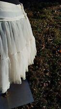 vintage sam's crinoline petticoat slip vintage wedding formal lingerie M