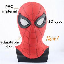 Spider Man Homecoming Cosplay Mask Spiderman 3D Helmet Hero Party Prop Costume