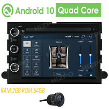 """7""""2Din Android 10 Ford F150 F350 500 Edge Lincoln Fusion Car GPS Stereo Radio"""