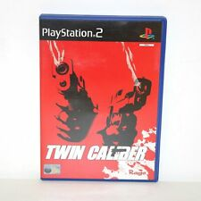 TWIN CALIBER - SONY PLAYSTATION PS2 GAME - MINT