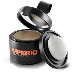 IMPERIO Ansatzpuder Haar-Concealer Haarverdichtung Haarpuder Make-up wasserfest