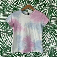 Wild Fable Blue Purple Tie Dye T-Shirt Women's Size Medium