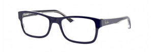 Sunglasses Of Eye Ray-Ban RX5268 5739 Blue On Transparent