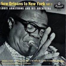 "LOUIS ARMSTRONG~NEW ORLEANS TO NEW YORK PT.2~OE 9190~+P/S~7"" UK VINYL EP~EX-"