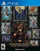 Kingdom Hearts: All-in-One Package (PlayStation 4, 2020) NEW