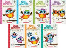 OWL DIARIES Children's Scholastic Branches Series Paperback Book Collection 1-7