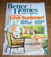 Better Homes and Gardens Magazine July 2014 Summer Food Fun Recipes 4th of July