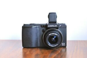 RICOH CAPLIO GX100  'GR series'  w/ VF-1 EVF  ,  Digital P&S camera     -Boxed
