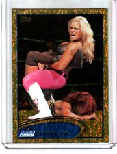 WWE Natalya #60 2012 Topps Gold Foil Parallel Card 1 Per Box!