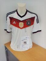 Deutschland Trikot WM 2014, Sane und Klostermann signiert, Fußball, DFB, Neu, L