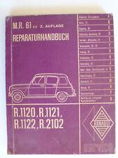 """Renault 4/Super """"c""""/fourgonnette-reparación manual-todas las áreas, 2.1963"""