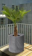 Thermo Frost Schutz für Pflanzen grau - 2 Größen - Topfschutz Pflanz Kübel Topf