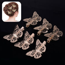 6pcs Butterfly Hair Clips Hairpins Barette Clamps Premium Fashion Design Gift