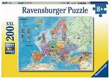 200 Teile Ravensburger Kinder Puzzle XXL Politische Europakarte 12837