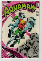 Aquaman 52 (1970) Neal Adams Deadman story NICE VF 8.0