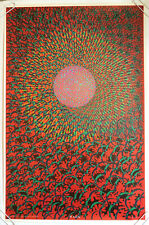 The Inner Eye Vintage Black Light Poster Wilfred Satty East Totem West 1968 60s