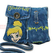 Disney TINKERBELL Universal Jean Pouch Case for FlipPhones iPhone 5S/SE MP3 iPod