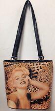 Marilyn Monroe Leopard Print Ladies Handbag  - A Great Value Handbag