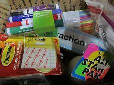 School Lot Grades K-1 & 2 Classroom Bundle Assorted Supplies Teachers Home