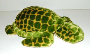 Vintage Toys R Us Animal Alley Green Sea Turtle Plush Stuffed Animal Toy Friend