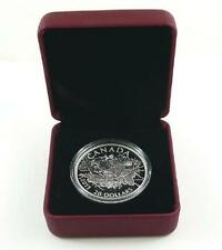 Royal Canadian Mint 2013 Canada $20.00 .999 Fine Silver Beaver Coin with Case