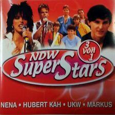 NDW SuperStars-3 von 1 Nena, Markus, UKW, Hubert Kah (3 songs each) [CD]