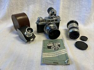 VOSS DIAX IIa Kamera, 2x Objektive, Universalsucher, Flexameter Kühn, VOS0050)