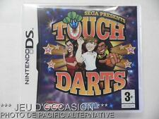 OCCASION: Jeu SEGA PRESENTS TOUCH DARTS nintendo DS game francais fléchettes