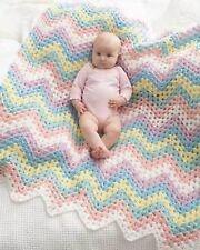 Baby Rainbow Blanket Crochet Pattern 99p