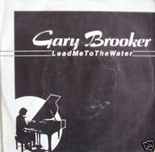"7"" 1982 ! GARY BROOKER : Lead Me To The Water / MINT-"