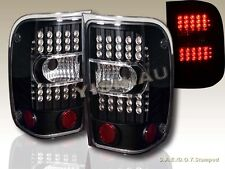 2001-2011 FORD RANGER LED L.E.D BLACK TAIL LIGHTS LEFT RIGHT REAR LAMPS ASSEMBLY