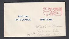 USA 1958 FIRST CLASS & THIRD CLASS MAIL 3C & 4C FIRST DAY OF RATE CHANGE COVERS
