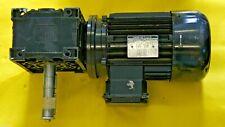 Lenze Electric Gear Motor 1.8 kW M90L4 1660 rpm Shutter Up Down Motor