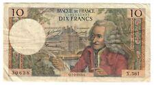 FRANCIA france 10 FRANCS 1970 LOTTO 1504
