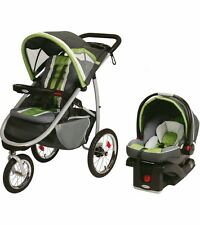 Graco FastAction Fold Jogging Travel System - Piazza