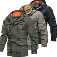 Men's Waterproof Winter Outdoor Combat Tactical Coat Soft Shell Military Jackets