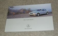 Mercedes C Class Brochure 2003 C32 AMG C200 C220 C270 CDI C180K C200K Avantgarde