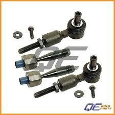 2 Tie Rod Assembly Meyle Heavy Duty Left & Right For: Audi A4 A6 A8 S6 Passat