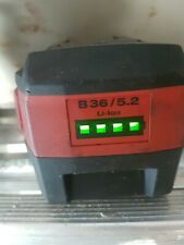 Hilti Batteria 36 Volt Li-lon 5.2 ah Originale