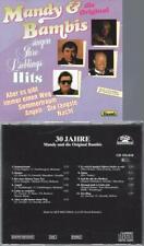 CD-- MANDY & DIE BAMBIS SINGEN IHRE LIEBLINGSHITS // 30 JAHRE