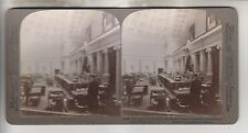 1904 STEREOVIEW - SUPREME COURT ROOM IN CAPITOL - WASHINGTON DC