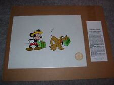 """Disney """"Mr. Mouse Takes A Trip"""" Limited Edition Cel With COA"""