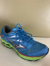 Mizuno Wave Inspire 9 Womens Size 10 Running Shoes Blue Green