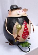 G2015: Lustiger Schweine Eimer, Abfall Treteimer für den Garten, Grilleimer