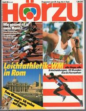 HÖR ZU  # 35 / 1987 / MADONNA, Pro.HACKETHAL, CARL LEWEIS, IDA KROTTENDORF