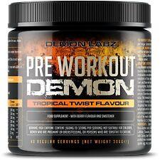 Pre Workout Demon (TROPICAL TWIST Flavor) Creatine Supplement (306 gm- 40 SERV)