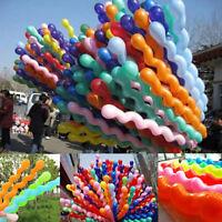 Giant Spiral Balloons Long Latex Wedding Kids Birthday Party Decor Gift 10/50pcs